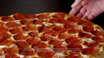 Little Caesars EXTRAMOSTBESTEST Pizza TV Spot, 'Secret Message' - Thumbnail 4