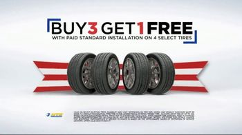 National Tire & Battery 72-Hour Super Sale TV Spot, 'Rebate'