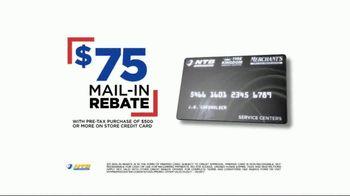 National Tire & Battery 72-Hour Super Sale TV Spot, 'Rebate' - Thumbnail 7