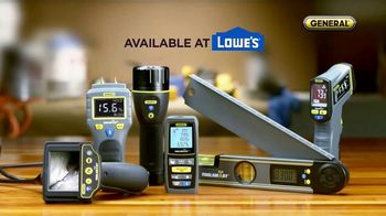General ToolSmart TV Spot, 'Laser Distance Measurer, Digital Angle Finder'