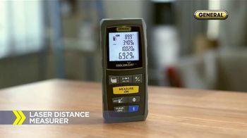 General ToolSmart TV Spot, 'Laser Distance Measurer, Digital Angle Finder' - Thumbnail 4