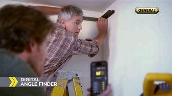 General ToolSmart TV Spot, 'Laser Distance Measurer, Digital Angle Finder' - Thumbnail 6