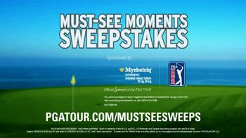 PGA TOUR Must-See Moments Sweepstakes TV Spot, 'Winners' - Thumbnail 5