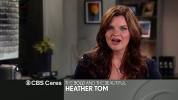 CBS Cares TV Spot, 'Heather Tom on Choking'
