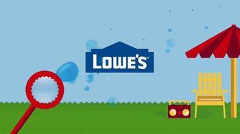 Lowe's TV Spot, 'Huge Summer Savings: Appliances & Paint' - Thumbnail 1