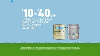 Lowe's TV Spot, 'Huge Summer Savings: Appliances & Paint' - Thumbnail 3