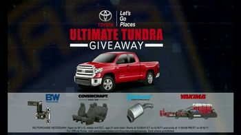 Bassmaster Ultimate Tundra Giveaway TV Spot, 'It Could Be You' - Thumbnail 6
