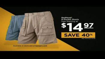 Bass Pro Shops Father's Day Sale TV Spot, 'Redhead Shorts & New Balance' - Thumbnail 5
