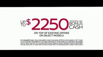 Nissan Make the Move Sales Event TV Spot, 'Bonus Cash: Rogue & Altima' [T2] - Thumbnail 8