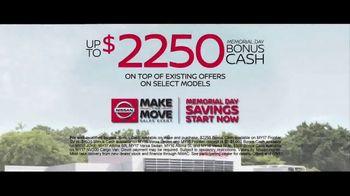 Nissan Make the Move Sales Event TV Spot, 'Bonus Cash: Rogue & Altima' [T2] - Thumbnail 9