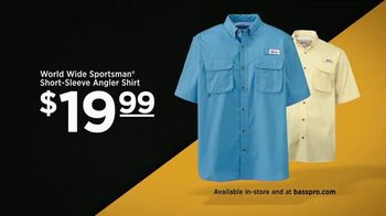 Bass Pro Shops Father's Day Sale TV Spot, 'Angler Shirts and Towable Tube' - Thumbnail 5