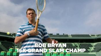 Izod Advantage Performance Polo TV Spot, 'Practice Footage' Feat. Bob Bryan - Thumbnail 2