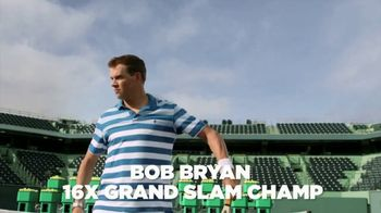 Izod Advantage Performance Polo TV Spot, 'Practice Footage' Feat. Bob Bryan - Thumbnail 5