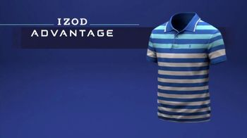 Izod Advantage Performance Polo TV Spot, 'Practice Footage' Feat. Bob Bryan - Thumbnail 6