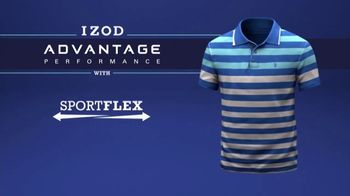 Izod Advantage Performance Polo TV Spot, 'Practice Footage' Feat. Bob Bryan - Thumbnail 7