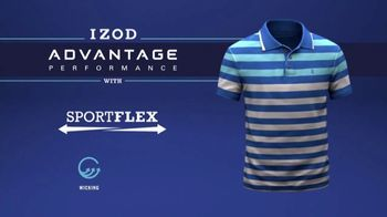 Izod Advantage Performance Polo TV Spot, 'Practice Footage' Feat. Bob Bryan - Thumbnail 8