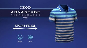 Izod Advantage Performance Polo TV Spot, 'Practice Footage' Feat. Bob Bryan - Thumbnail 9