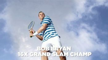 Izod Advantage Performance TV Spot, 'Slow Motion' Featuring Bob Bryan - 128 commercial airings