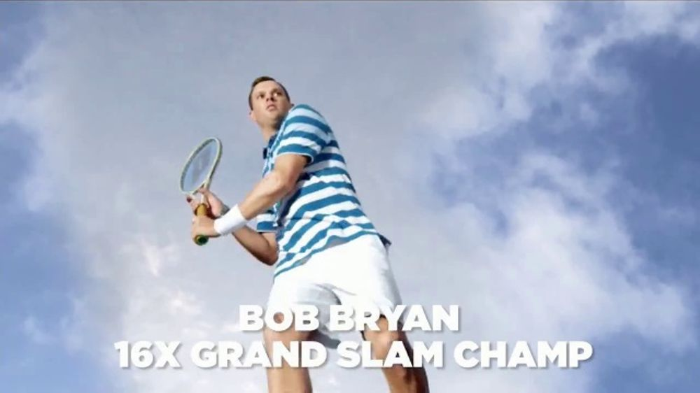 Izod Advantage Performance TV Commercial, 'Slow Motion' Featuring Bob Bryan