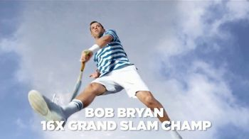 Izod Advantage Performance TV Spot, 'Slow Motion' Featuring Bob Bryan - Thumbnail 3