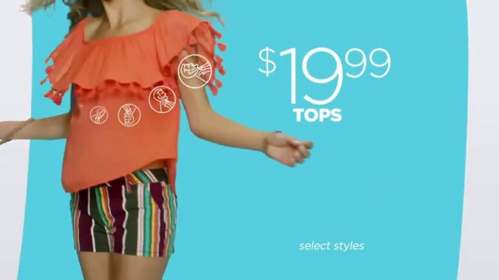 2c6ce623efa0 JCPenney Summer Fashion Stock-Up TV Commercial, 'Whites and Brights' -  iSpot.tv