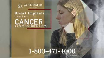 Goldwater Law Firm TV Spot, 'Breast Implants' - Thumbnail 2