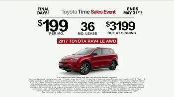 Toyota Time Sales Event TV Spot, 'RAV4 Camping: Final Days' [T2] - Thumbnail 10