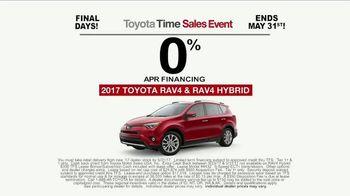 Toyota Time Sales Event TV Spot, 'RAV4 Camping: Final Days' [T2] - Thumbnail 7