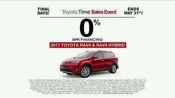 Toyota Time Sales Event TV Spot, 'RAV4 Camping: Final Days' [T2] - Thumbnail 8