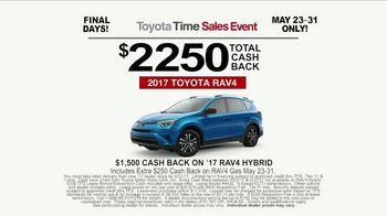Toyota Time Sales Event TV Spot, 'RAV4 Camping: Final Days' [T2] - Thumbnail 9