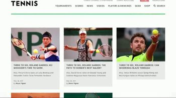 TENNIS.com TV Spot, '2017 Roland Garros' - Thumbnail 3