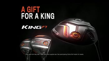 Cobra Golf King F7 TV Spot, 'Revolutionize: Father's Day' Ft. Rickie Fowler - Thumbnail 10