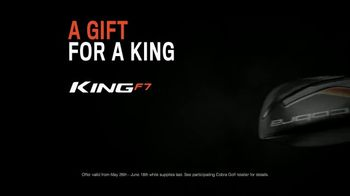 Cobra Golf King F7 TV Spot, 'Revolutionize: Father's Day' Ft. Rickie Fowler - Thumbnail 9