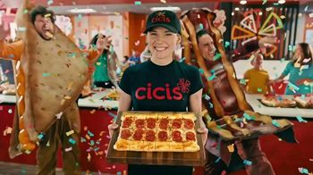 CiCi's Pizza Stuffed Crust Trio TV Spot, 'Fiesta' [Spanish] - 1443 commercial airings