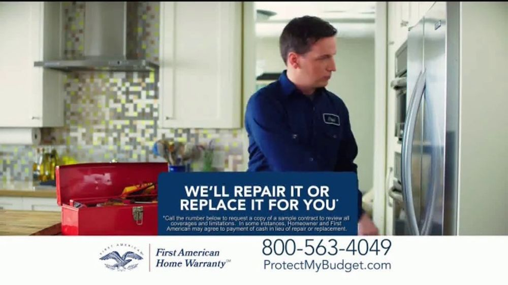 First American Home Warranty Plan Tv Commercial