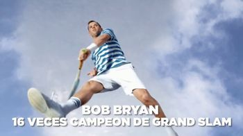 Izod Advantage Performance Polo TV Spot, 'La polo' con Bob Bryan [Spanish] - 48 commercial airings