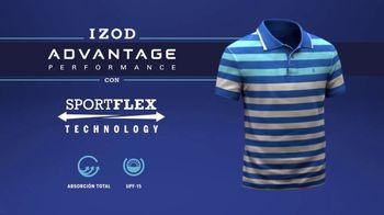 Izod Advantage Performance Polo TV Spot, 'La polo' con Bob Bryan [Spanish] - Thumbnail 3