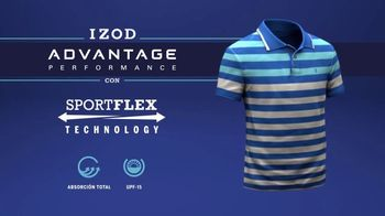 IZOD Advantage Performance Polo TV Spot, 'Imágenes reales' [Spanish] - Thumbnail 5
