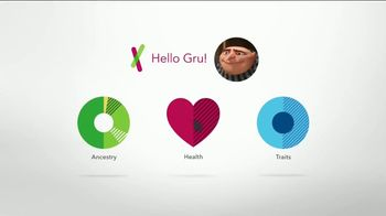 23andMe TV Spot, 'Despicable Me 3: Gru's Genetic Journey' - 1663 commercial airings