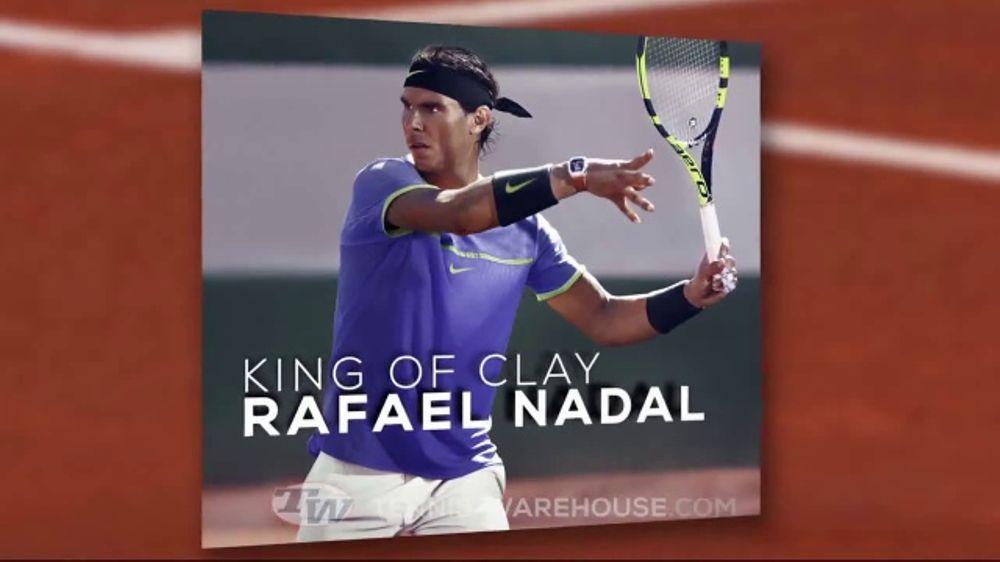 Tennis Warehouse TV Commercial,  Rafael Nadal s 2017 Roland Garros Gear  ... 805291ef11