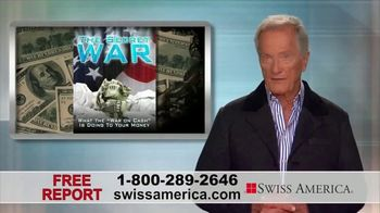Swiss America TV Spot, \'The Secret War\' Featuring Pat Boone