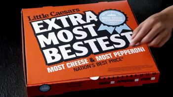 Little Caesars EXTRAMOSTBESTEST Pizza TV Spot, 'Entrégate' [Spanish] - Thumbnail 1