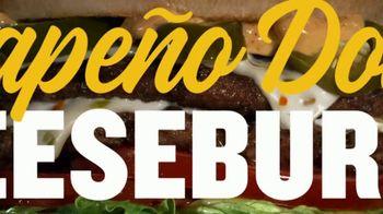 Carl's Jr. Jalapeño Double Cheeseburger TV Spot, 'Double Meat, Double Heat' - Thumbnail 1