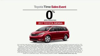 Toyota Time Sales Event TV Spot, 'Sienna or Highlander' [T2] - Thumbnail 7