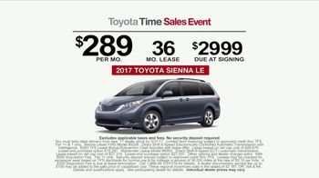 Toyota Time Sales Event TV Spot, 'Sienna or Highlander' [T2] - Thumbnail 8