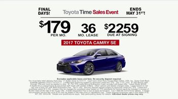 Toyota Time Sales Event TV Spot, 'NASCAR: Camry Cash' Feat. Denny Hamlin [T2] - Thumbnail 10