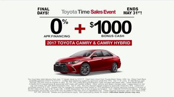 Toyota Time Sales Event TV Spot, 'NASCAR: Camry Cash' Feat. Denny Hamlin [T2] - Thumbnail 9