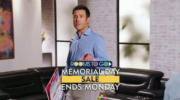 Rooms to Go Memorial Day Sale TV Spot, 'Bonus Saving Coupons' - Thumbnail 1