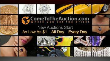 ComeToTheAuction.com TV Spot, 'Signed Joe Namath Football' - 8 commercial airings