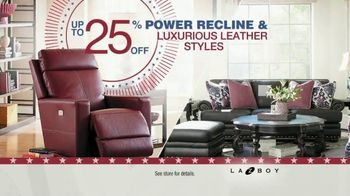 La-Z-Boy Memorial Day Sale TV Spot, 'Power and Leather' - Thumbnail 3
